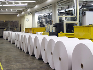 Slack Chemical Company carries products for the paper industry.